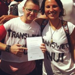 Actie Transgenderwet, Roze Zaterdag 2012