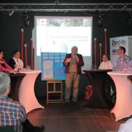Roze Verkiezingsdebat Zwolle met ondertekening Verklaring van Dordrecht