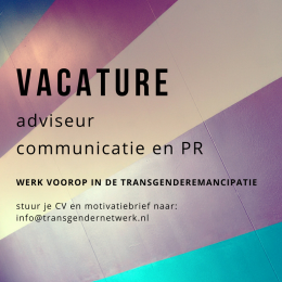 Vacature: adviseur communicatie en PR
