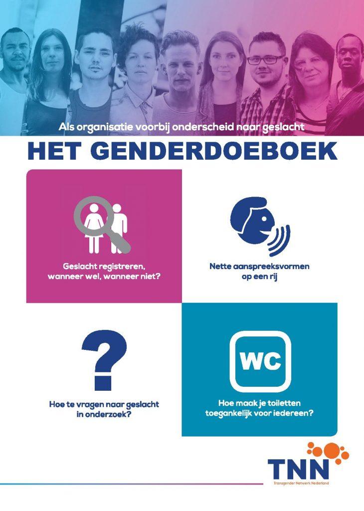 Het Genderdoeboek, wegwijzer voor organisaties