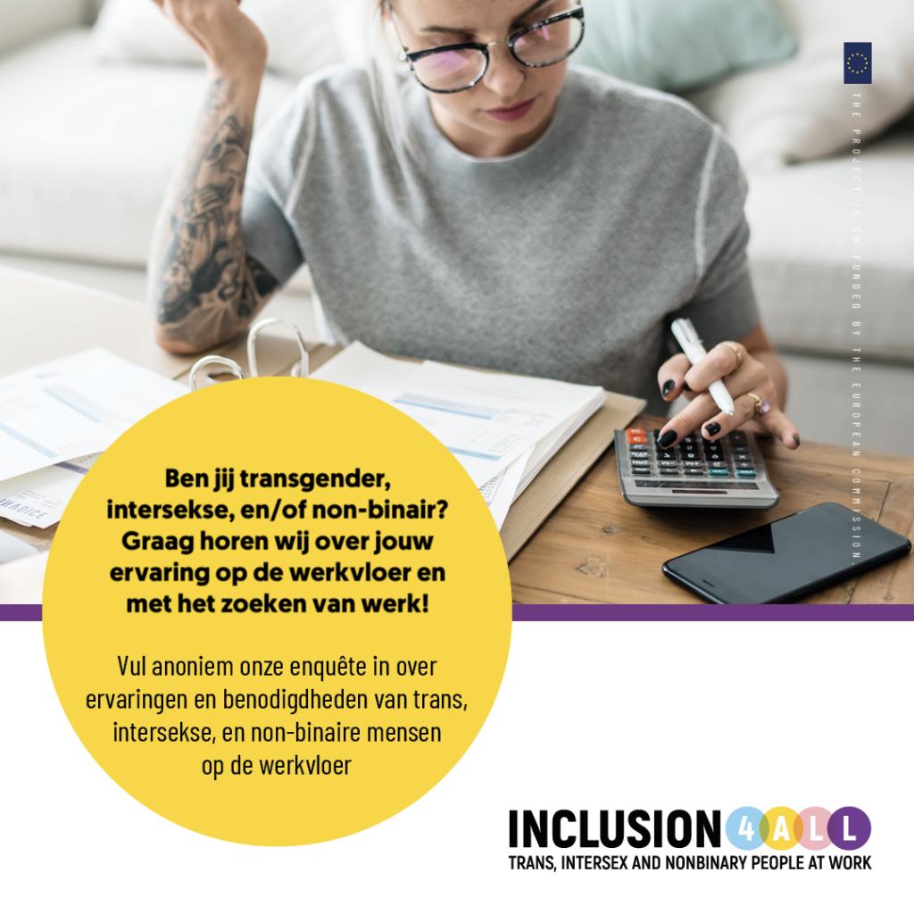 Inclusie op het werk: doe mee aan een nieuw Europees onderzoek