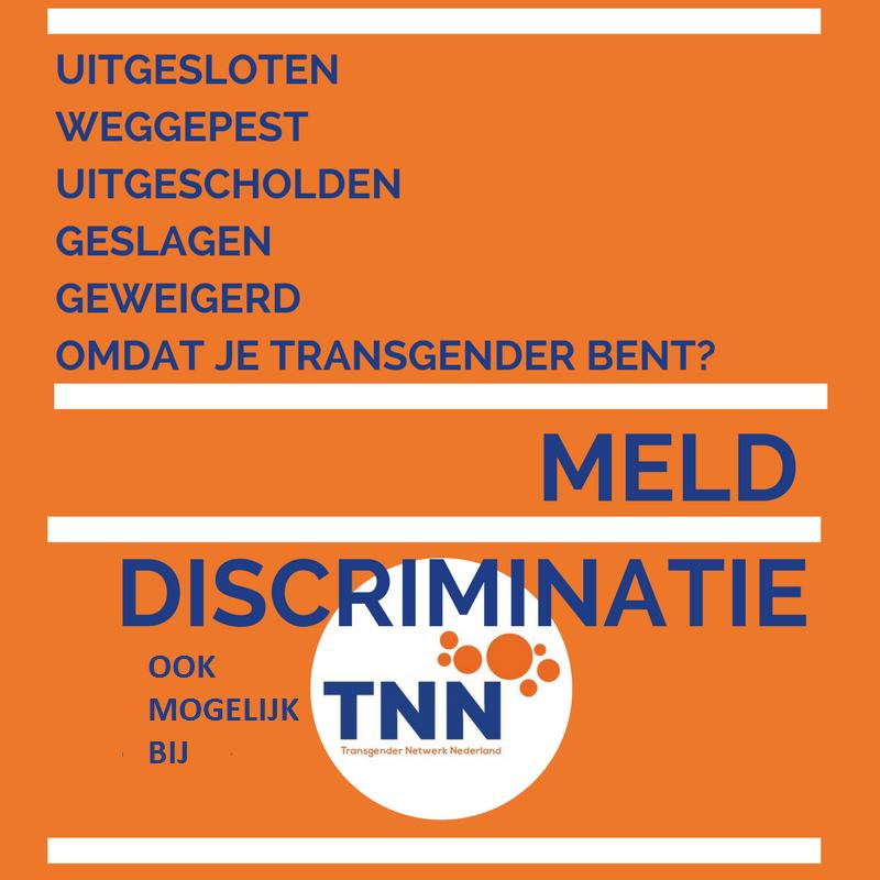 Meld discriminatie bij TNN