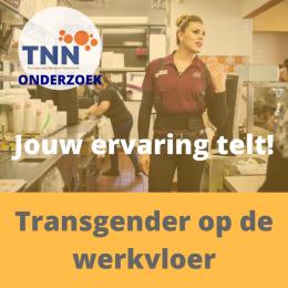 Nieuw onderzoek naar transgender en werk van start. Doe mee!