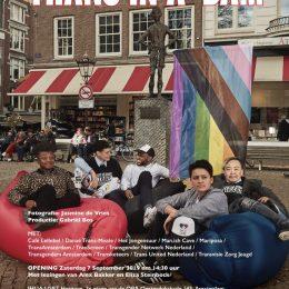 Transgender Netwerk Nederland viert verjaardag met fotoserie over Amsterdamse trans organisaties