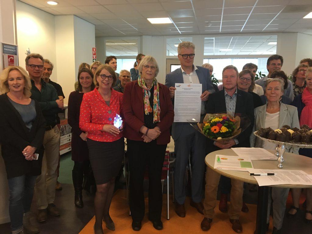 Hanzehogeschool Groningen ontving prijs voor transgendervriendelijk werkgeverschap