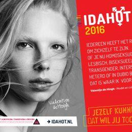 IDAHOT 2016: Jezelf kunnen zijn dat wil jij toch ook?